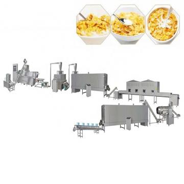 Puff Snacks Cereals Corn Flakes Flaking Machine